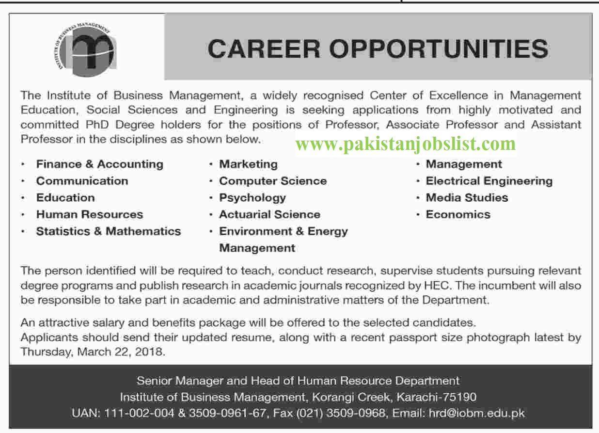 Professors , Associate Professors and Assistant Professors jobs in ...