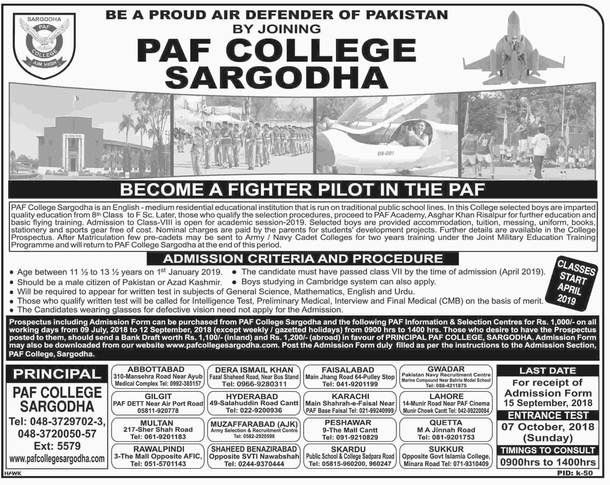 Jobs - Become a Fighter Pilot in PAF